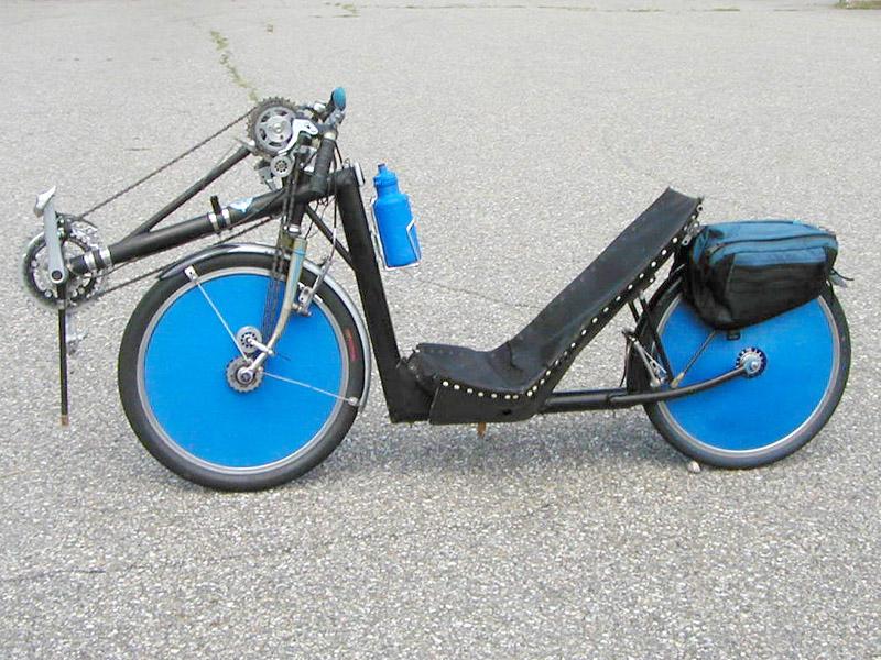 光盘自行车制作教程图解