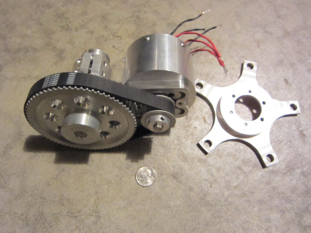 The Recumbent Bicycle And Human Powered Vehicle Information Center Ac Motor Construction Kit Picture