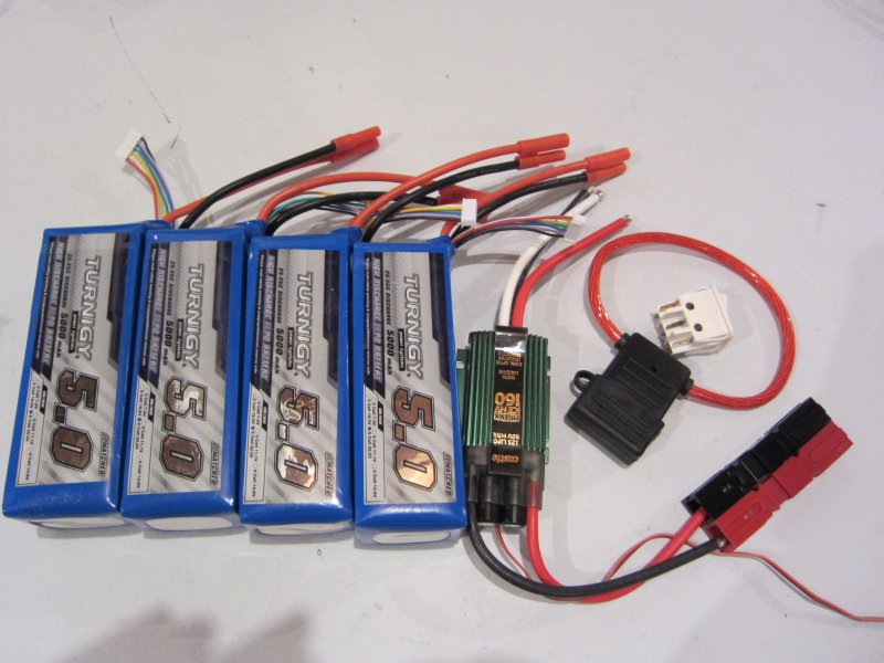 Note That All Individual Battery Packs Should Be Balance Charged Before Connecting Them Together In Parallel To Ensure The Cell Voltage Match