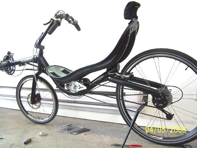 想过用模型电机制作电动自行车吗?来看看