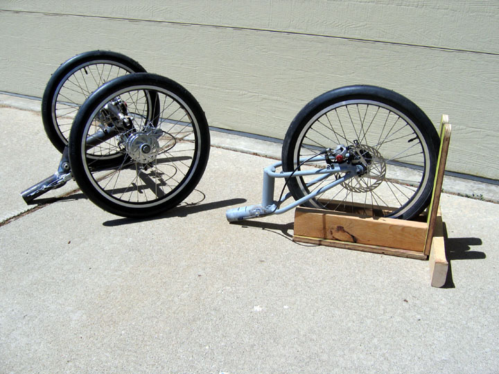 The recumbent bicycle and human powered vehicle information center two carbon nosecones were made from a nosecone mold i have one was cut down more then the other clear blown tops will be added to complete the shape publicscrutiny Gallery